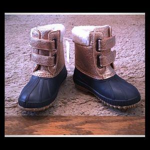Gap Toddler Rose Gold Snow Boots